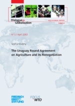 The Uruguay round agreement on agriculture and its renegotiation