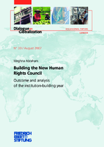 Building the new Human Rights Council