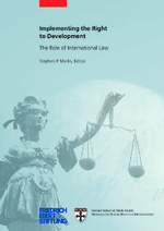Implementing the right to development
