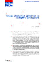 Towards a framework convention on the right to development