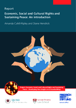 Economic, social and cultural rights and sustaining peace