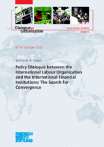 Policy dialogue between the International Labour Organization and the international finacial institutions