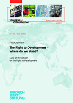 The right to development - where do we stand?